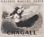 Chagall, Marc - 1950 - Galerie Maeght (Vogel-Frau)