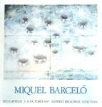 Barceló, Miguel - 1987 - Leo Castelli (Fifteen Holes)
