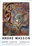 Poster: Masson, André - 1968 - Musee Cantini