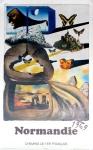 Dali, Salvador - 1969 - Chemins de fer francais (Normandie)