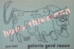 Thiemann, Hans - 1947 - Galerie Gerd Rosen