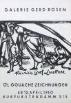 Luckner, Heinrich Graf - 1960 - Galerie Rosen