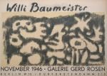 Baumeister, Willi - 1946 - Galerie Gerd Rosen Berlin