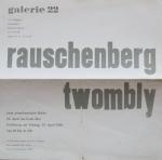 Rauschenberg, Robert - 1960 - Galerie 22 Düsseldorf