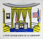 Lichtenstein, Roy - 1992 - Oval Office (A new generation of leadership)