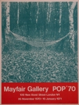 Poster: Rosenquist, James - 1970 - Mayfair Gallery