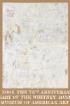 Johns, Jasper - 2005 - Whitney Museum (Double White Map)