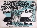 Trökes, Heinz - 1945 - Galerie Gerd Rosen (Ausstellung junger Kunst)