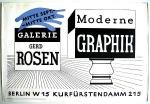 Anonym - 1945 - Galerie Gerd Rosen (Moderne Graphik)