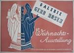Anonym - 1945 - Galerie Gerd Rosen (Weihnachtsausstellung)