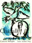 Plakat: Chagall, Marc - 1962 - Galerie Maeght