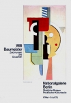Plakat: Baumeister, Willi - 1972 - Nationalgalerie Berlin
