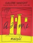 Adami, Valerio - 1980 - Galerie Maeght
