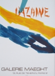 Poster: Bazaine, Jean - 1972 - Galerie Maeght