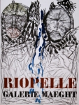 Poster: Riopelle, Jean Paul - 1974 - Galerie Maeght