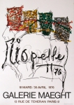 Poster: Riopelle, Jean Paul - 1976 - Galerie Maeght