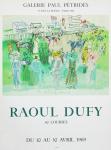 Dufy, Raoul - 1969 - Galerie Pétridès Paris (Epsom)