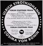 Strothjohann, Ulrich - 1992 - Forum Stadtpark Graz
