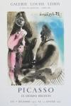 Picasso, Pablo - 1972 - Galerie Leiris