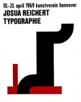 Reichert, Josua - 1969 - Kunstverein Hannover (Typographie)