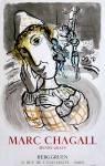 Chagall, Marc - 1967 - (Le cirque au clown jaune) Galerie Berggruen