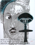 Plakat: Lorjou, Bernard - 1968 - Homage to Martin Luther King