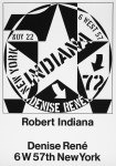 Indiana, Robert - 1972 - Galerie Denise René New York