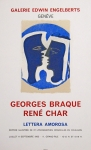 Poster: Braque, Georges - 1963 - Galerie Engelberts