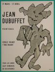 Dubuffet, Jean - 1954 - Cercle Volnay Paris (Peintures)