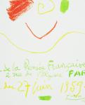 Picasso, Pablo - 1959 -  Maison de la Pensée Francaise Paris (Affiches originales)