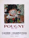 Poster: Pougny, Jean - 1961 - Galerie Charpentier