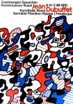 Poster: Dubuffet, Jean - 1970 - Kunsthalle Basel