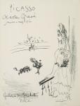 Picasso, Pablo - 1960 - Galerie des Ponchettes Nizza (Oeuvre Gravé)