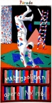 Poster: Hockney, David - 1981 - (Parade) Metropolitan Opera