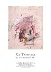 Twombly, Cy - 1997 - Galerie Greve Köln