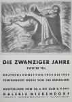 Barlach, Ernst - 1971 - Galerie Nierendorf