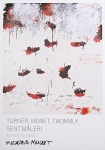 Poster: Twombly, Cy - 2011 - Moderna Museet