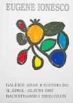 Ionesco, Eugène - 1987 - Galerie Aras