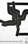 Poster: Chillida, Eduardo - 1972 - Olympic Games Munich