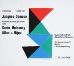 Delaunay, Sonia - 1966 - Kunstbibliothek Berlin