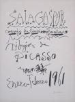 Picasso, Pablo - 1961 - (Dibujos de Picasso) Sala Gaspar Barcelona