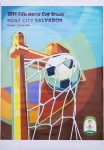 Poster: Football World CUp - 2014 - FIFA World Cup Brazil (Salvador)
