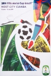 Poster: Football World Cup - 2014 - FIFA World Cup Brazil (Cuiaba)