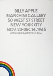 Apple, Billy - 1965 - Bianchini Gallery New York