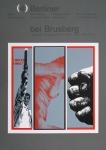 Sorge, Peter - 1970 - Galerie Brusberg