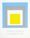 Poster: Albers, Josef - 1972 - Whitney Museum