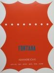Fontana, Lucio - 1967 - Galerie Iolas