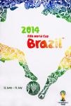 Fußball WM - 2014 - Fußball-Weltmeisterschaft (Logo)