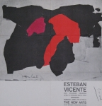 Poster: Vicente, Esteban - 1962 - The New Arts Houston