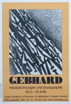Poster: Gebhard, Ludwig - 1968 - München